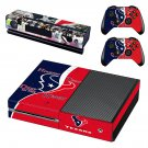 Houston Texas skin decal for Xbox one console and controllers