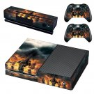 Skull & Bones skin decal for Xbox one console and controllers