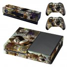 Kung Fu Panda 2 skin decal for Xbox one console and controllers