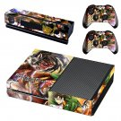 Attack on Titan 2 skin decal for Xbox one console and controllers