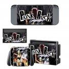 Punk Rock Nintendo switch console sticker skin