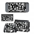Punk Rock Nintendo switch console sticker skin