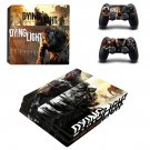 Dying Light ps4 pro skin decal for console and controllers