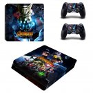 Avengers infinity war  ps4 slim skin decal for console and controllers
