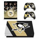 Pittsburgh Penguins skin decal for Xbox one X console and controllers