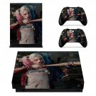Harley Quinn skin decal for Xbox one X console and controllers