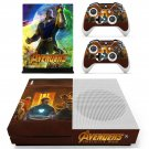 Avengers infinity war skin decal for Xbox one S console and controllers
