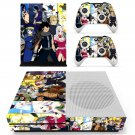 Fairy tail skin decal for Xbox one S console and controllers