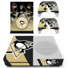 Pittsburgh Penguinsskin decal for Xbox one S console and controllers
