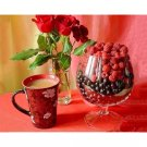 coffee and wild berries Diamond Painting DIY kit Canvas Painting Wall Art Mosaic Painting