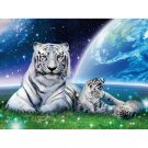 snowy tigers Diamond Painting DIY kit Canvas Painting Wall Art Mosaic Painting