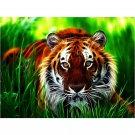 hunting tiger Diamond Painting DIY kit Canvas Painting Wall Art Mosaic Painting