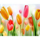 tulips flower Diamond Painting DIY kit Canvas Painting Wall Art Mosaic Painting