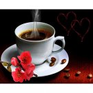 coffee with love Diamond Painting DIY kit Canvas Painting Wall Art Mosaic Painting