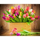 tulips flowers Diamond Painting DIY kit Canvas Painting Wall Art Mosaic Painting