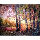 autumn in the wood Diamond Painting DIY kit Canvas Painting Wall Art Mosaic Painting