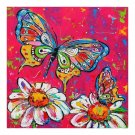 chamomile and butterflies Diamond Painting DIY kit Canvas Painting Wall Art Mosaic Painting