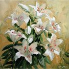 lilies flowers Diamond Painting DIY kit Canvas Painting Wall Art Mosaic Painting