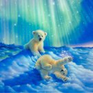 white bear cubs Diamond Painting DIY kit Canvas Painting Wall Art Mosaic Painting
