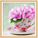 pink flowers Diamond Painting DIY kit Canvas Painting Wall Art Mosaic Painting
