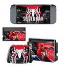 Spider Man Nintendo switch console sticker skin