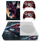 Spider Man skin decal for Xbox one S console and controllers