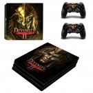 Divinity Original Sin 2 ps4 pro skin decal for console and controllers