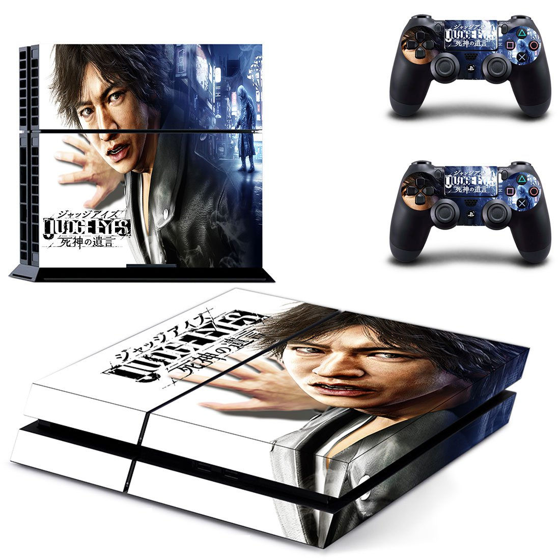 Judge Eyes skin decal for PS4 PlayStation 4 console and 2 controllers