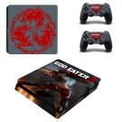 God Eater 3 ps4 slim skin decal for console and controllers