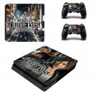Judge Eyes ps4 slim skin decal for console and controllers