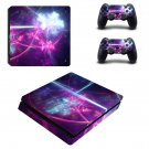 3D Abstract ps4 slim skin decal for console and controllers