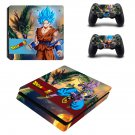Dragon Ball Super ps4 slim skin decal for console and controllers