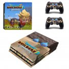 Dragon Quest Builders ps4 pro skin decal for console and controllers