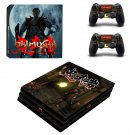 Onimusha ps4 pro skin decal for console and controllers