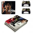 Judge Eyes ps4 pro skin decal for console and controllers