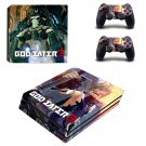God Eater 3 ps4 pro skin decal for console and controllers