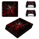 Abstraction ps4 pro skin decal for console and controllers