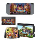 Dragon Quest Builders Nintendo switch console sticker skin