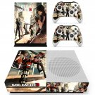 God Eater 3 skin decal for Xbox one S console and controllers