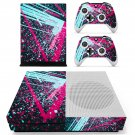 Abstraction skin decal for Xbox one S console and controllers