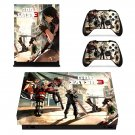 God Eater 3 skin decal for Xbox one X console and controllers