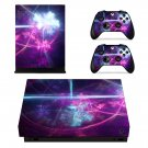 Abstraction skin decal for Xbox one X console and controllers