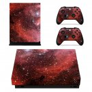 Galaxy Scene skin decal for Xbox one X console and controllers