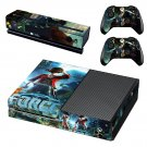 Jump Force  skin decal for Xbox one console and controllers