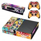 Dragon Ball  skin decal for Xbox one console and controllers