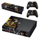 Mortal Kombat 11  skin decal for Xbox one console and controllers