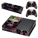 Skull Abstraction  skin decal for Xbox one console and controllers