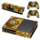 Hearthstone  skin decal for Xbox one console and controllers
