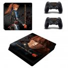 Dead or Alive 6 ps4 slim skin decal for console and controllers