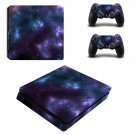 Starry Galaxy ps4 slim skin decal for console and controllers